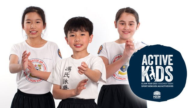 Active Kids Kung Fu and Martial Arts classes