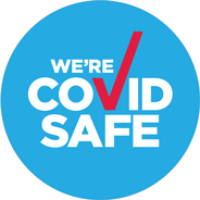 We're a registered COVID Safe business!